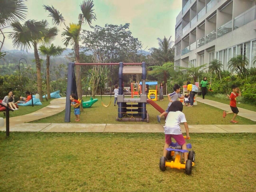 Hotel di Bandung yang Ada Garden