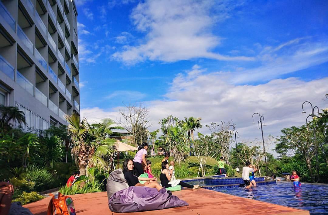Resort dengan Pemandangan Indah di Dago