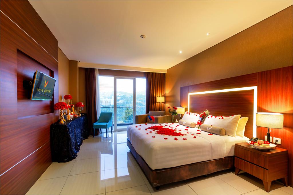 Honeymoon Setup At Junior Suite Room